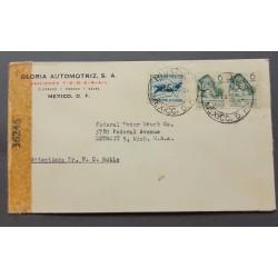 SL) 1944 MEXICO, FIGHT AGAINST MALARIA, COMMEMORATIVE MONUMENT CAMINO MEXICo