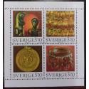 L) 1996 SWEDEN, SCULTURE, MONUMENT, MEDAL, CRAFTSMANSHIP, MNHL) 1996 SWEDEN, SCULTURE, MONUMENT, MEDAL, CRAFTSMANSHIP, MNH