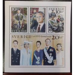 L) 1996 SWEDEN, CARL XVI, PRESIDENT, GUSTAF, PRINCE, PRINCESS, ROYAL FAMILY, PRESIDENT, MNH