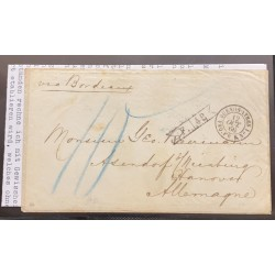J) 1966 ARGENTINA, OCTOBER 12, COVER AND FULL CONTENT, LETTER SENT BY MAIL FROM BUENOS AIRES TO HASENDORG, HANNOVER